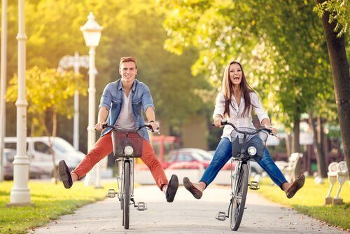 Para na rowerach