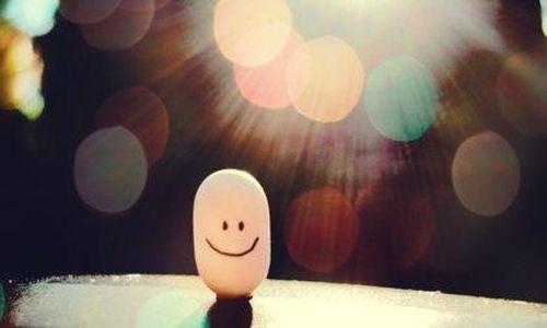 Poczucie humoru - uśmiechnięta tabletka