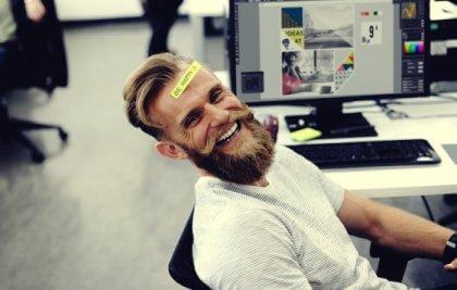 Poczucie humoru w pracy
