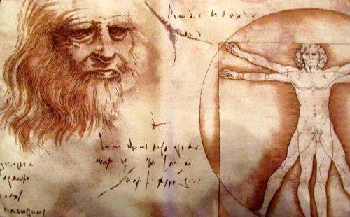 Rysunki Leonarda da Vinci