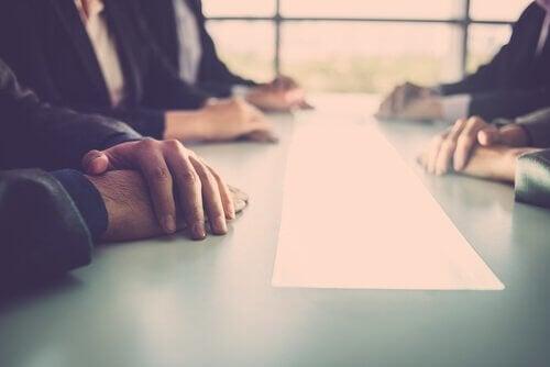 Spotkanie w pracy - brak komunikacji wewnętrznej