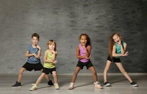Taniec jako terapia sztuką dla dzieci