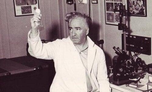 Wilhelm Reich w laboratorium