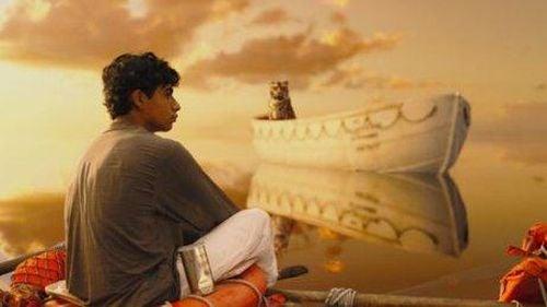 Życie Pi - chłopak i tygrys na oceanie