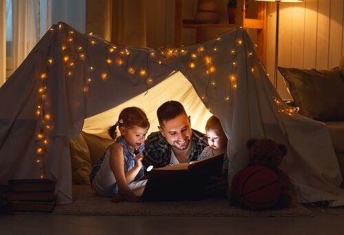 Czytanie dzieciom książek - relacje z dziećmi