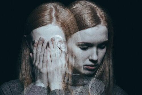 Kobieta z zaburzeniami