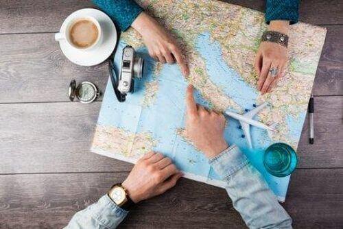 Mapa - planowanie podróży