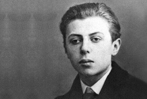 Młody Jean-Paul Sartre