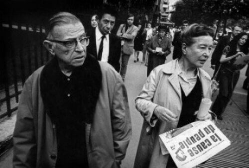 Jean-Paul Sartre i Simone de Beauvoir