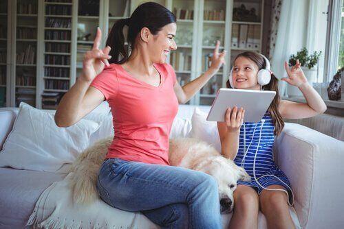 Wspólna zabawa - relacje z dziećmi
