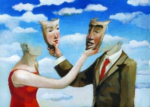 Dramaturgia społeczna - zamiana masek