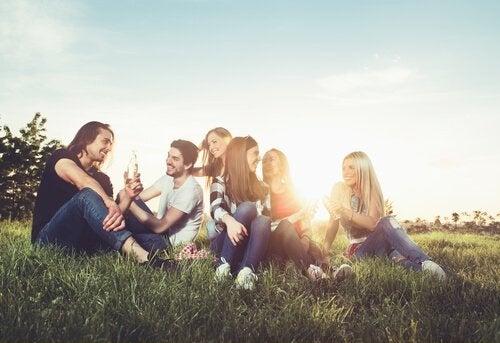 grupa przyjaciół