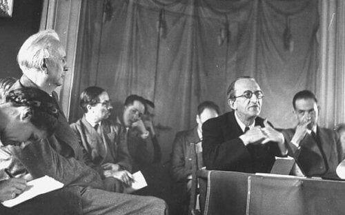 Karl Jaspers na spotkaniu