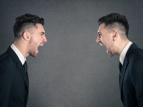 Kłótnia pomiędzy dwoma mężczyznami