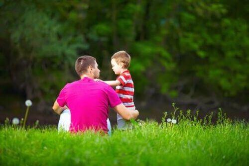 Tata próbuje lukrować rzeczywistość przed dzieckiem