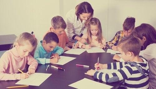 organizacja pracy w klasie