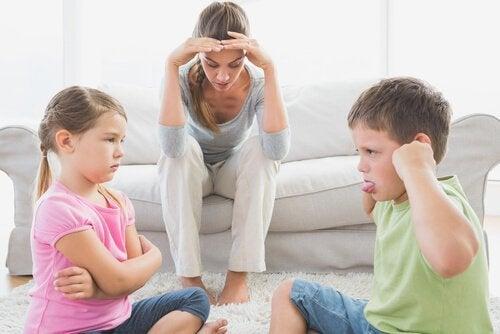 Matka ma problemy z zachowaniem dzieci