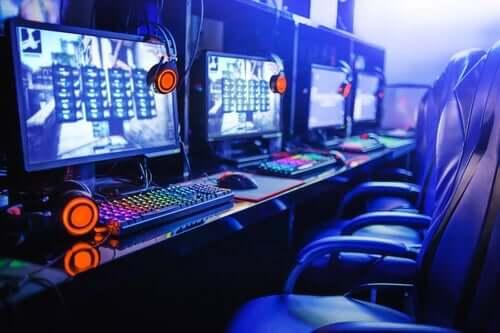 E-sport - sala gier