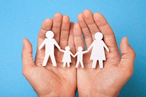 Wycinanka rodziny