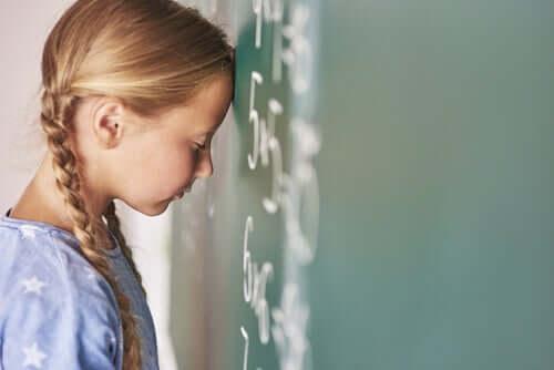 Akalkulia - zaburzenie polegające na braku umiejętności rozumienia liczb