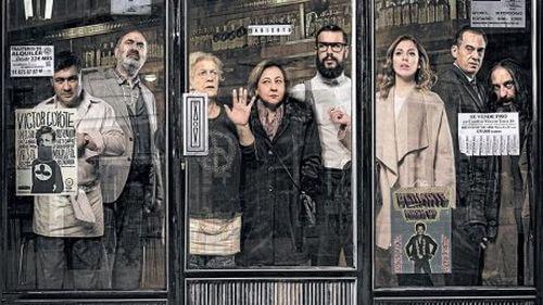 Film Bar - uwięzieni ludzie