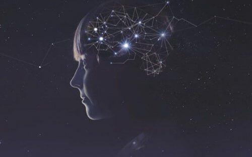 Ilustracja połączeń neuronowych w mózgu