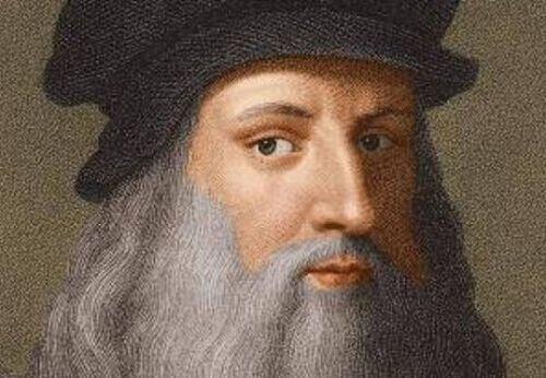 Leonardo da Vinci - autoportret