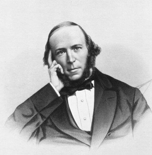 Herbert Spencer - portret