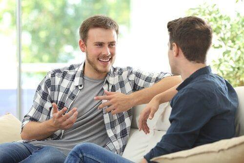Rozmowa znajomych