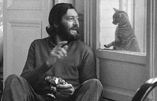 Julio Cortázar i jego kot