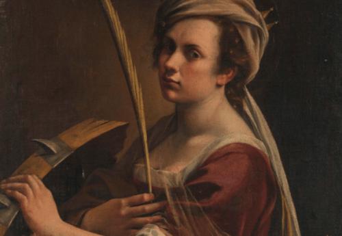 Atremisia Gentileschi obraz