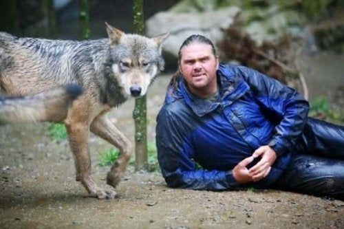 Shaun Ellis - człowiek, który żyje wśród wilków