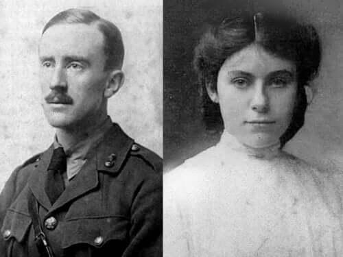Tolkien i żona