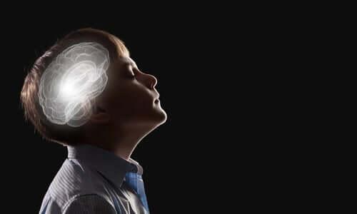 Intuicja - umysł chłopca