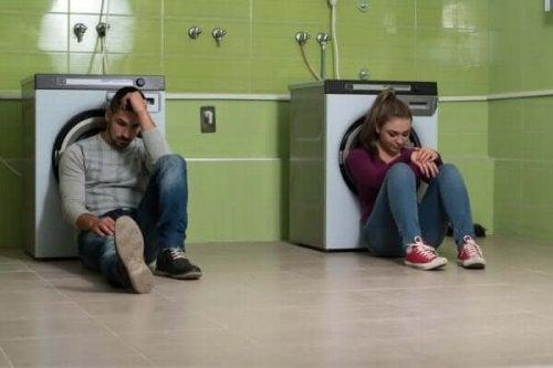 Kłótnia dziewczyny i chłopaka