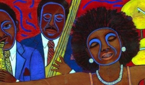 Obraz - czarnoskóra kobieta