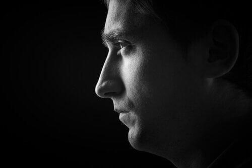 Profil mężczyzny