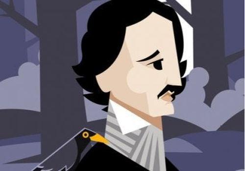 Edgar Allan Poe rysunek