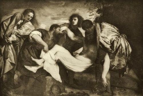 Apostołowie i Jezus Chrystus - Tycjan