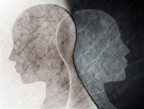 Dwa profile nachodzące na siebie