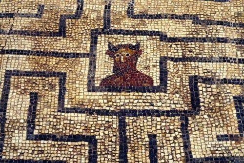 Labirynt Minotaura, którego autorem był Dedal