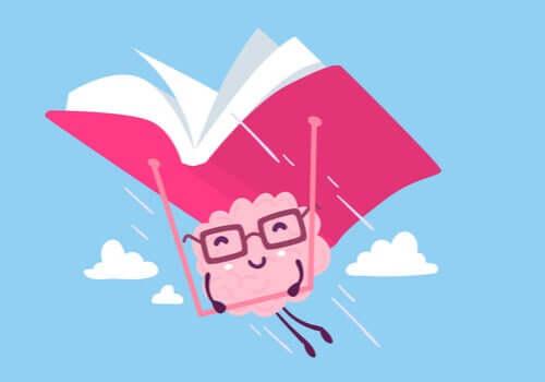 Mózg latający z książką