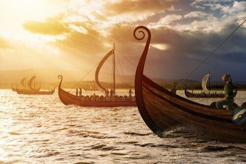 Statki wikingów