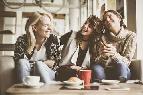 Szczęśliwe przyjaciółki