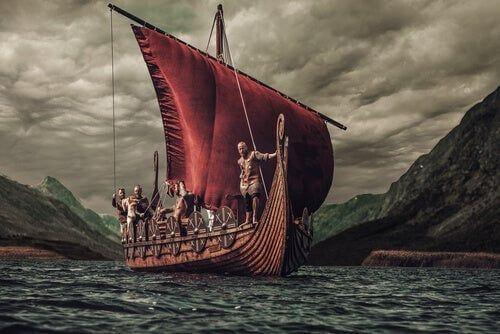 Wikingowie na morzu