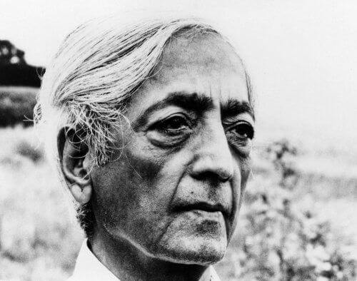 Jiddu Krishnamurti - portret