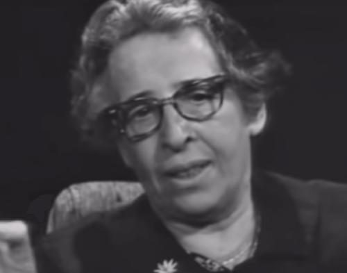 Johanna Arendt, pluralistyczna myślicielka