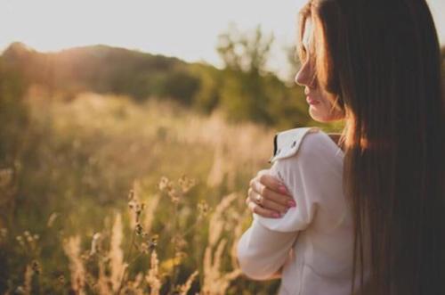 Kobieta na polu