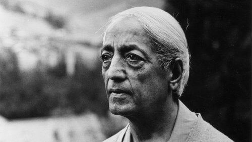 Krishnamurti pod koniec życia