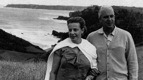 Severo Ochoa z żoną
